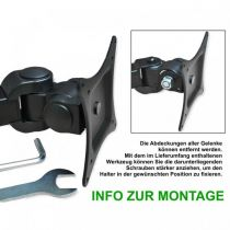 Preview: DMP LCD 351 D STAND -schwarz-