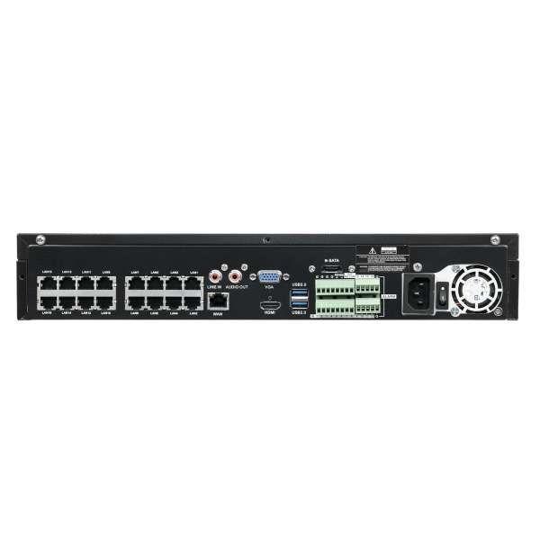 Balter BNR-3116P 16-Kanal 3840x2160p H.265 PoE Alarm 4K Netzwerk Kamera Rekorder