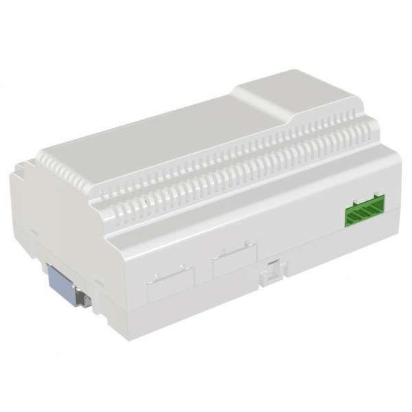 Balter EVO-AP Silber Quick Video Türsprechanlage 2-Draht BUS RFID Aufputz Set für 1 Familienhaus