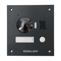 Preview: Excellent Video-Türsprechanlage 7 Touch LCD 2-Draht BUS Komplettsystem für 1 Teilnehmer Anthrazit