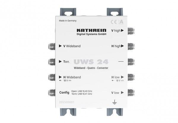 Kathrein UWS 24 Konverter für zwei Widebandsignale, 5-862 MHz, IP30