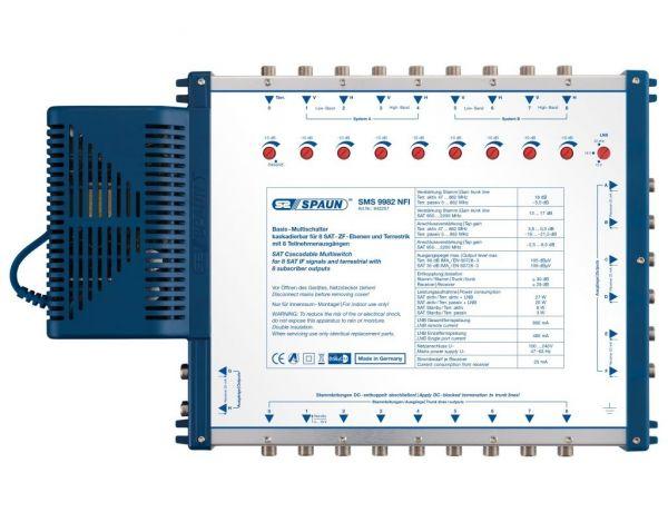 Spaun SMS 9982 NFI 9/8 Multischalter kaskadierbar