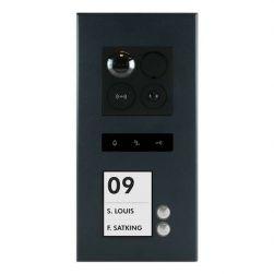 Balter ERA Graphit RFID 2-Draht BUS IP Türstation 2 Familienhaus 150° Weitwinkelobjektiv Aufputz