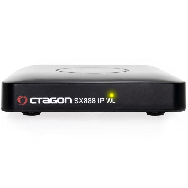 Octagon SX888 WL Wifi IP HEVC Full HD LAN USB H.265 IPTV m3u VOD Stalker Xtream Multimedia Box