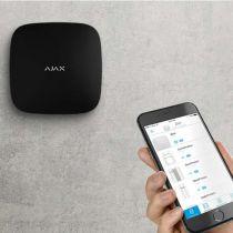 Vorschau: AJAX Alarmzentrale Hub 2 Plus Jeweller GSM LAN GPRS APP Steuerung Schwarz