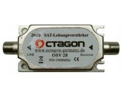 Octagon OSV 28 Inline Verstärker 20dB 950-2400MHz