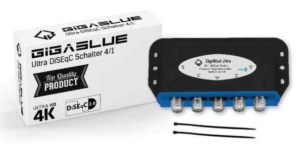 GigaBlue Ultra DiSEqC Schalter 4/1