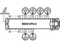 Vorschau: EMP ProfiLine MS25/12PIU-6 Multischalter