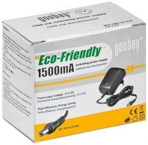 Preview: Goobay Netzteil 12V DC 1.5A 18W für HD-SDI / IP Kameras
