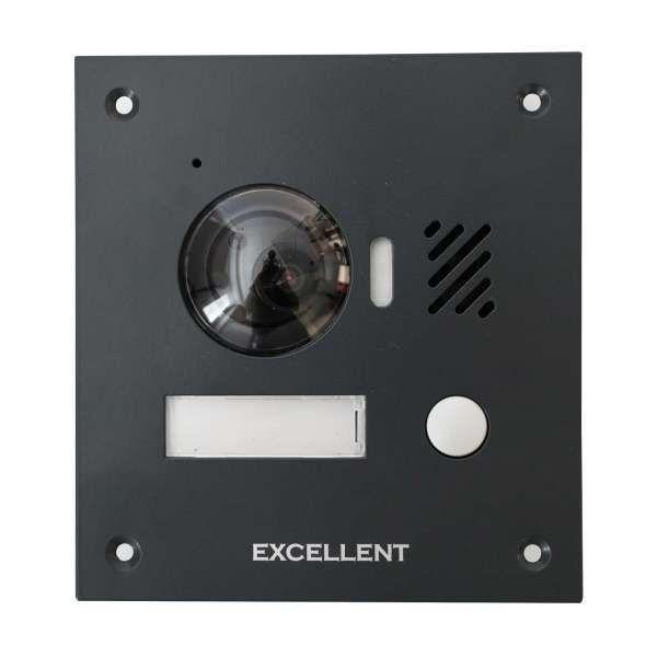 Excellent 2 Draht Video Aussenstation 1,3 MP 150° Kamera für 1 Teilnehmer Anthrazit