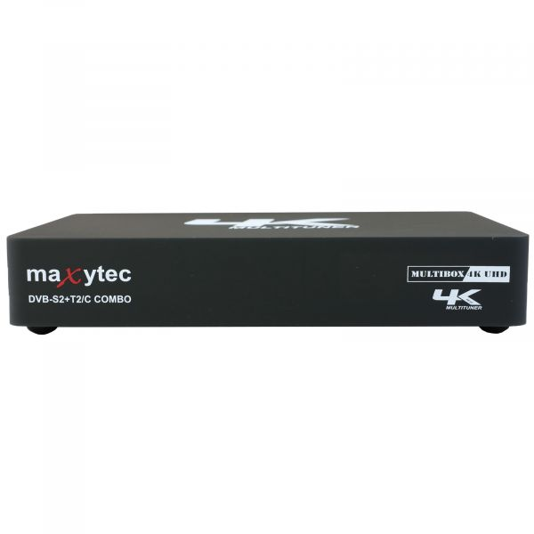 Maxytec Multibox 4K UHD 2160p E2 Linux + Android DVB-S2 Sat & DVB-T2/C Combo Receiver