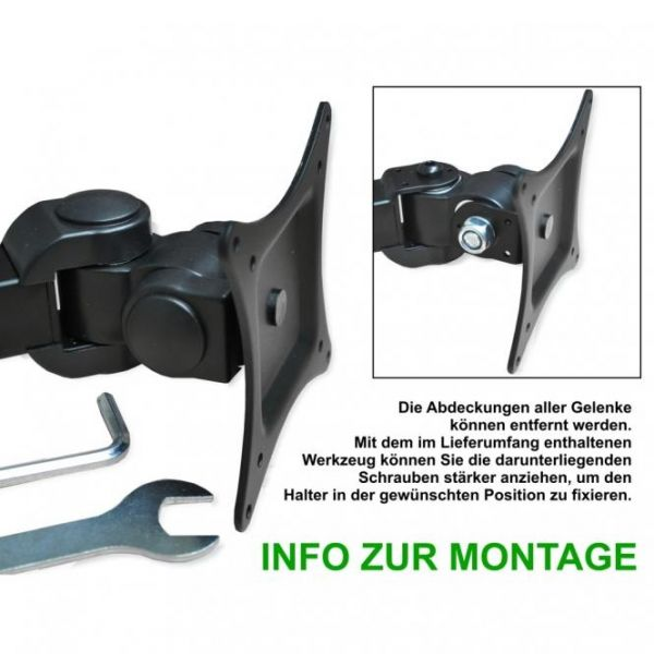 DMP LCD 481 S -schwarz-