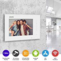 Vorschau: BALTER ERA 7 IP WiFi Touchscreen HD Monitor 2-Draht IP BUS Weiss iOS Android App