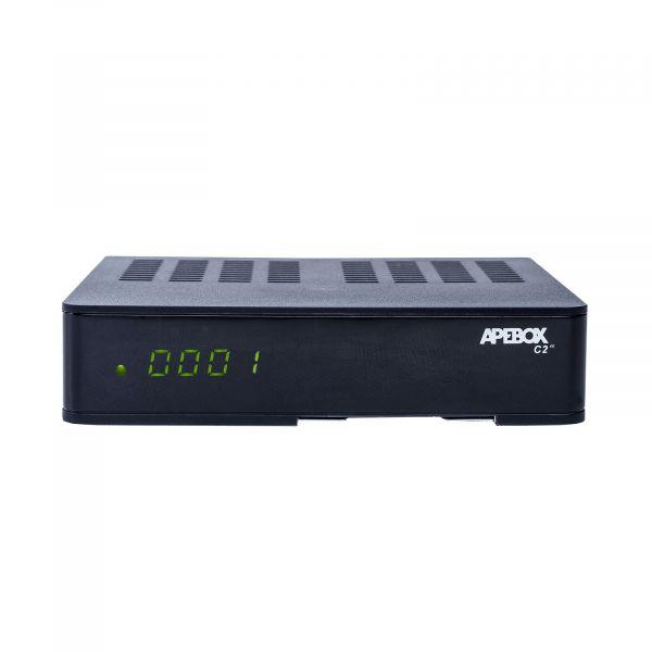 Apebox C2 4K UHD H.265 LAN DVB-S2X DVB-C/T2 Multistream Combo Receiver