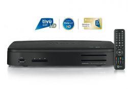 Telesystem TS 9020 HD Twin Sat-Receiver USB PVR WiFi inkl. Tivusat HD Karte