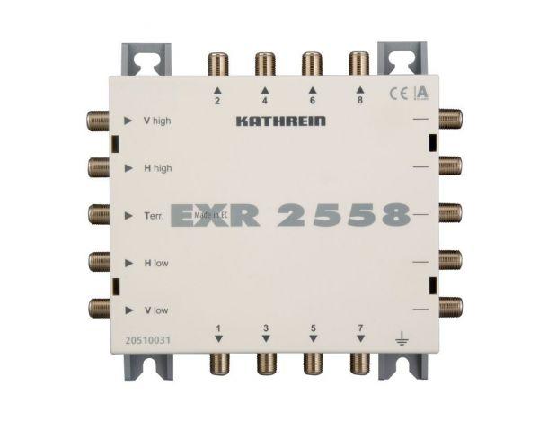 Kathrein EXR 2558 Multischalter Durchgang Kaskade 5 auf 8