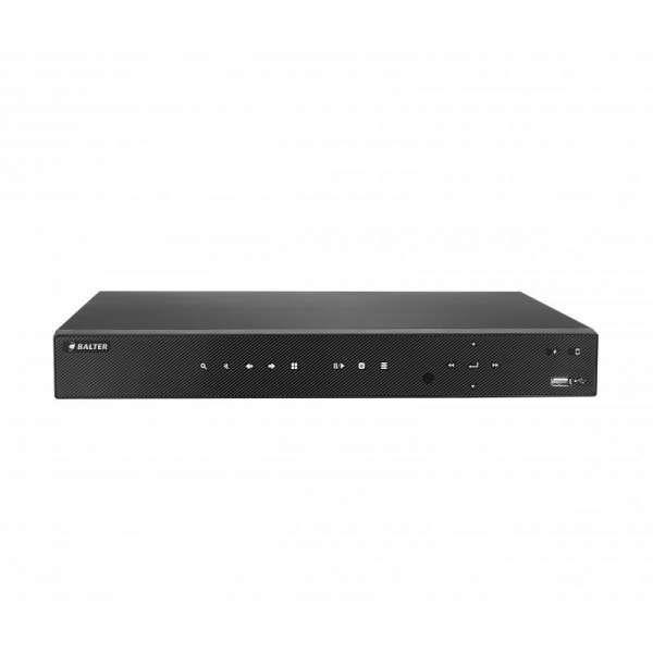 BALTER BHR-4108C 8 Kanal Hybrid HD-TVI/AHD/CVI/IP Kamera Rekorder, H.264, 5MP, Audio, P2P, HDMI 4K