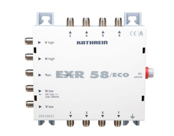 Kathrein Multischalter EXR 58 ECO mit Energiesparfunktion