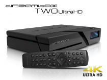 Vorschau: Dreambox Two Ultra HD BT 2x DVB-S2X MIS Tuner 4K 2160p E2 Linux Dual Wifi H.265 HEVC