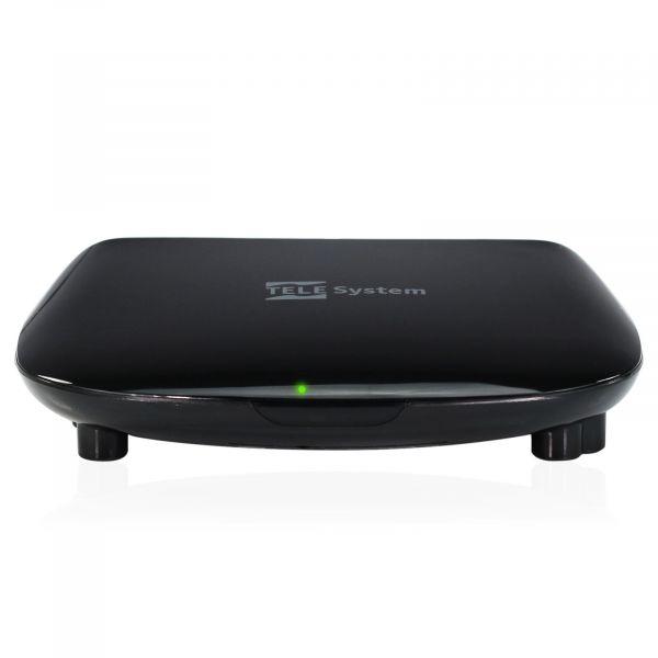 Telesystem TS3011HD FTA Full HD DVB-S2 Sat Receiver USB Schwarz