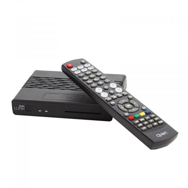 qviart Lunix HbbTV Full HD H265 HEVC OTT IPTV E2 Linux Sat Receiver