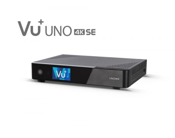 VU+ Uno 4K SE 1x DVB-S2X FBC Twin Tuner PVR ready Linux Receiver UHD 2160p
