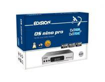 Vorschau: Edision OS nino pro DVB-S2X + DVB-T2/C Full HD Receiver silber
