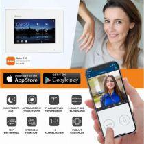 Vorschau: Balter EVO SILVER Video-Türsprechanlage 7 Wifi Monitor 2-Draht BUS für 2 Familienhaus App Steuerung