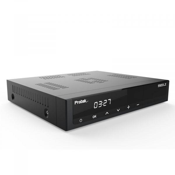 Protek 9920 LX 1x DVB-S2 Tuner E2 Linux HDTV Full HD 3D HEVC H.265 Sat Receiver
