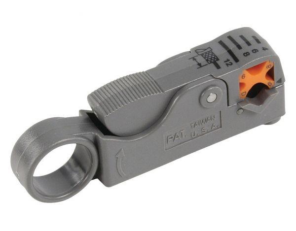 Cabelcon Coax Profi Abisoliergerät - Rotary Stripper Mini/RG59/RG6