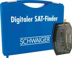 Schwaiger SF 9002 SET SAT-Finder HD im Koffer inkl. Montage Zubehör - Satfinder