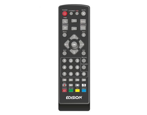 Edision proton T265 Full HD Hybrid DVB-T2/C Receiver schwarz