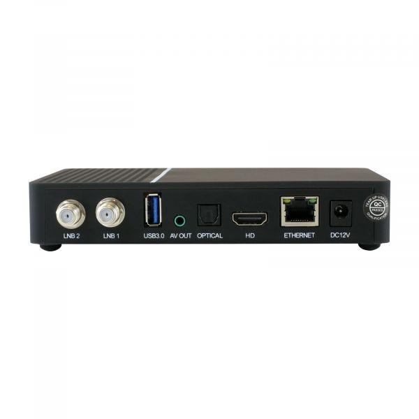 Maxytec Multibox 4K UHD 2160p E2 Linux USB HDMI DVB-S2X Dual Sat Wifi Receiver