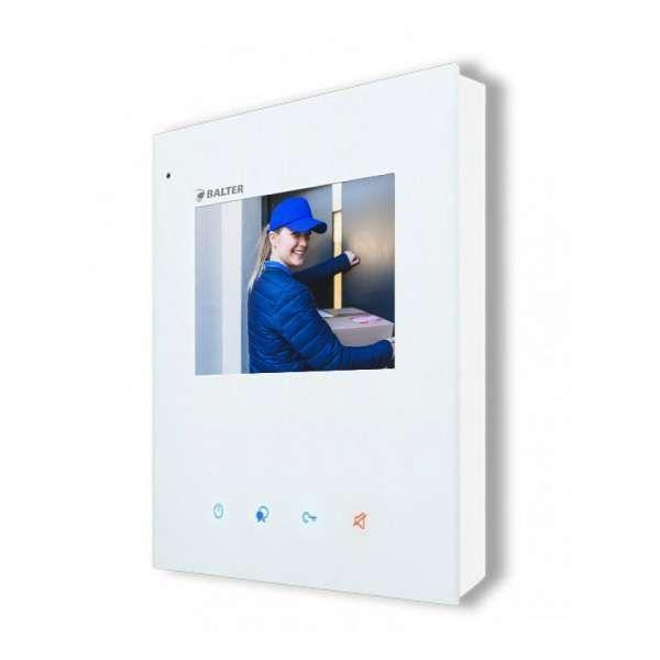 BALTER EVIDA Graphit RFID Edelstahl BUS Video Türstation 4.3 Wifi APP 3 Teilnehmer