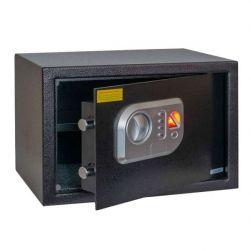 Anadol Tresor Deluxe ? elektronischer Tresor mit Fingerabdruck-Sensor und Zahlenschloss 16L