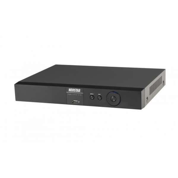 Neostar NTR-430PA 4-Kanal 4K UHD PoE Netzwerk Multi-Stream Rekorder iOS & Android Apps