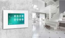 Preview: Balter Graphit EVIDA RFID 2-Draht BUS Video Türstation 2x7 Monitor Set für 1 Teilnehmer