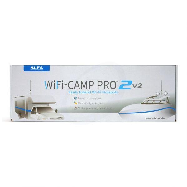 ALFA WiFi Camp-Pro2 v2 EU 2020 WLAN Range Extender Kit, 802.11b/g/n, 300MBit