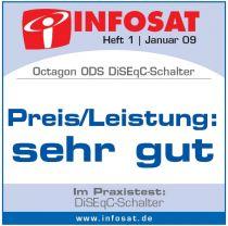 Vorschau: OCTAGON OPTIMA DiSEqC 2/1 ODS 21-02 HQ Gold