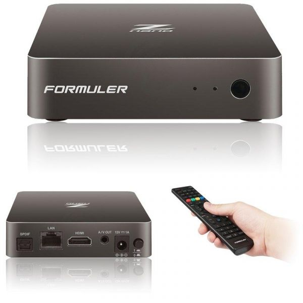Formuler Z Nano Full HD Android IPTV Kodi Stalker Player H.265 HEVC WLAN