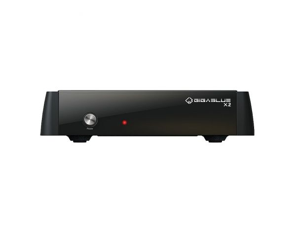 GigaBlue HD X2 ohne Tuner HEVC H.265 IPTV Streaming E2 Linux Full HD Receiver
