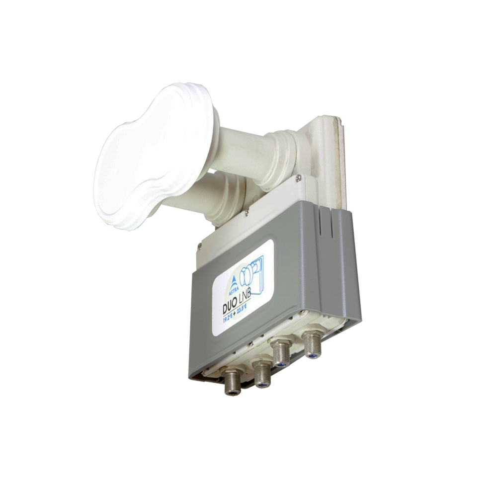 MAXIMUM XO-44 4,3° Monoblock Quad LNB 0,1 dB HDTV