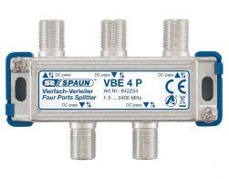 Spaun VBE 4 P 4-fach Verteiler Fernspeisedurchgang