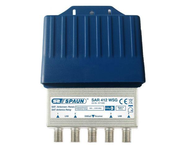 Spaun SAR 412 WSG DiSEqC Schalter 4/1
