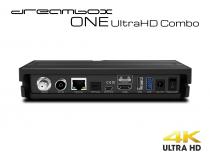 Vorschau: Dreambox One Combo Ultra HD 1x DVB-S2X MIS 1xDVB-C/T2 Tuner 4K 2160p E2 Linux Dual Wifi H.265 HEVC