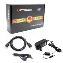 Vorschau: OCTAGON SX88+ SE CA HD HEVC FULL HD MULTISTREAM SAT DVB-S2X+IP RECEIVER