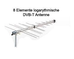 Maximum Log Canal DVB-T Außenantenne