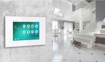 Vorschau: BALTER EVIDA Silber RFID Edelstahl 2-Draht BUS Video Türstation Aufputz 4 Familienhaus Set