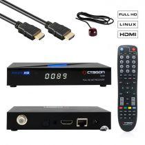 Vorschau: Octagon SX89 Full HD H.265 Linux LAN HDMI DVB-S2 Sat Tuner IP Receiver Schwarz