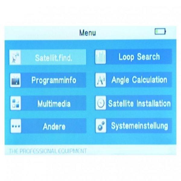 SATLINK WS 6916 HDTV Satfinder DVB-S / DVB-S2